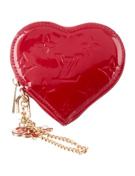 Vernis Heart Coin Purse by Louis Vuitton