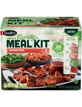 Stouffer's Complete Family Meal Kit Braised Pork Frozen Dinner 47 1/4 Oz. Box by Stouffer's Complete Family Meal Kit
