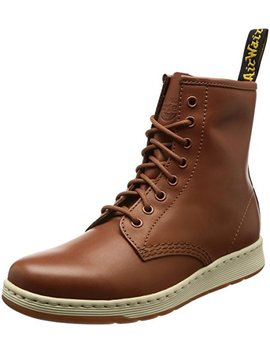 Dr. Martens Unisex Newton 8 Eye Boot Oak Temperley/Match Oak Temperley Binding 8 M Uk by Dr.+Martens