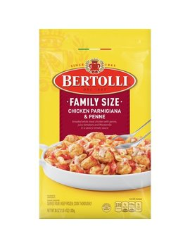Bertolli Frozen Skillet Meals Family Size Chicken Parmigiana & Penne, 36 Oz by Bertolli