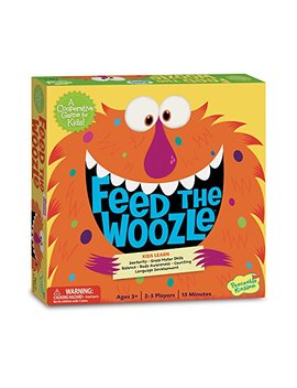 Peaceable Kingdom Feed The Woozle Preschool Skills Builder Game by Peaceable Kingdom