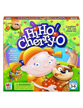 Hi Ho! Cherry O Board Game For 2 To 4 Players Kids Ages 3 And Up (Amazon Exclusive) by Hasbro