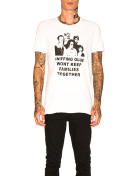 Archive Sniffing Glue Tee by Ksubi