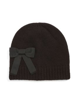 Grosgrain Bow Beanie by Kate Spade New York