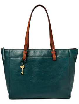 Rachel Tote With Zipper by Fossil