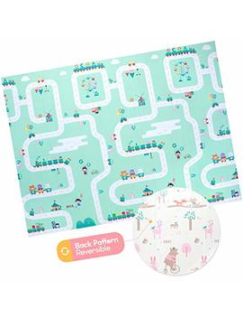 Baby Foam Play Mat   Foldable, Waterproof, Reversible Playmat For Toddlers And Kids by Ashtonbee