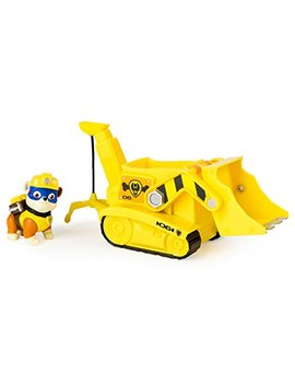 Paw Patrol Super Pup Rubble's Crane, Vehicle And Figure by Paw Patrol