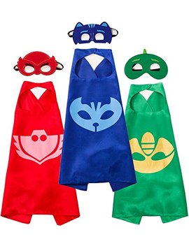 Funhall Costumes And Dress Up For Kids   Capes And Masks For Catboy Owlette Gekko by Funhall