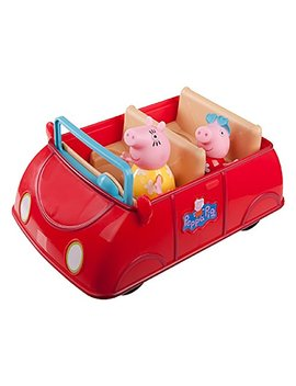 Peppa Pig Red Car Playset Includes Car Peppa Pig And Mummy Pig Sounds Include Melodies Phrases Oinks by Generic