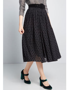 Collectif X Mc Endless Inspiration Dotted Skirt by Collectif