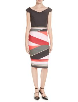 Mytany Sahara Print Sheath Dress by Ted Baker London