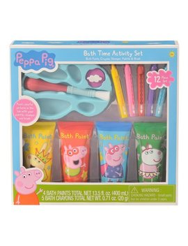 Peppa Pig Bath Time Paint Activity Set, 12 Pieces by Peppa Pig