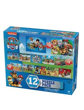 Paw Patrol 12 Puzzle Pack by Cardinal Games