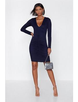 Love Ruche Mini Dress by Nasty Gal