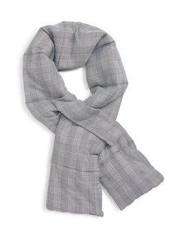 Glen Plaid Puffer Scarf by Leith