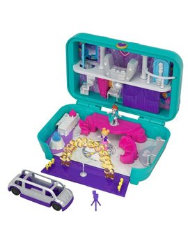 Polly Pocket Hidden Places Dance Par Taay! Case With Party Dolls And Accessories by Polly Pocket