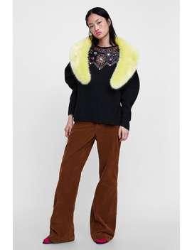 Limited Edition Bejeweled Sweater  Dress Timewoman Corner Shops by Zara