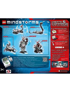 Lego Mindstorms Ev3 31313 Robot Kit With Remote Control For Kids, Educational Stem Toy For Programming And Learning How To Code (601 Pieces) by Lego