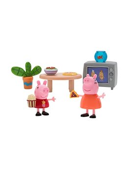 Peppa Pig Little Rooms Movie Night Playset by Peppa Pig