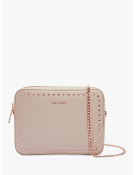 Ted Baker Suzie Micro Stud Leather Camera Bag, Taupe by Ted Baker