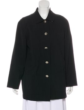 Wool Short Coat by Chanel