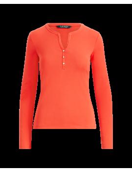 Jersey Henley Shirt by Ralph Lauren