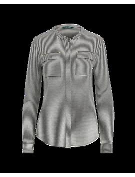 Buttoned Jersey Top by Ralph Lauren