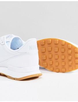 Zapatillas De Deporte Blancas Internationalist De Nike by Asos