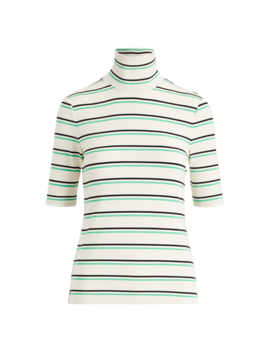 Striped Turtleneck Sweater by Ralph Lauren