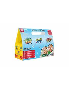 Zimpli Gelli Slime Crackle Baff Value Pack Play Messy Bath by Zimpli