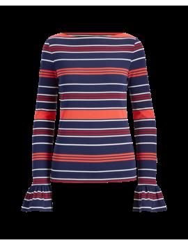 Striped Bell Cuff Top by Ralph Lauren