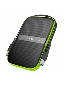 Silicon Power 5 Tb Rugged Portable External Hard Drive Armor A60, Shockproof Usb 3.0 For Pc, Mac, Xbox And Ps4, Black by Silicon Power