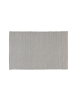 Portico Sand Indoor/Outdoor Pinstripe Rug 2x3 by Crate&Barrel