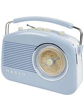 Konig Stylish Retro Table Radio   Baby Blue by Konig