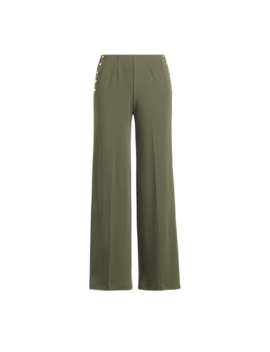 Stretch Jersey Wide Leg Pant by Ralph Lauren