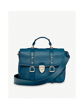 Mollie City Small Leather Satchel by Aspinal Of London