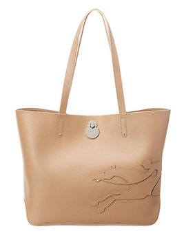 Longchamp Shop It Leather Tote by Longchamp