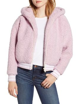 Frida Faux Fur Hooded Jacket by Lou & Grey
