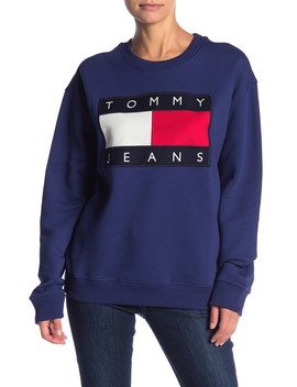 Logo Sweatshirt by Tommy Jeans