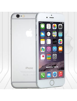 Apple Iphone 6 (64 Gb)  Network Unlocked Phone 4 G Lte  Ios Hd Silver by Apple