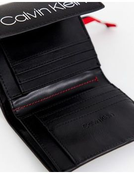 Calvin Klein Fold Over Logo Purse by Calvin Klein