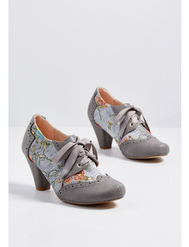 Classic, Reimagined Oxford Heel by Modcloth