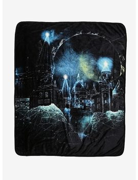 Harry Potter Geometric Hogwarts Throw Blanket by Hot Topic