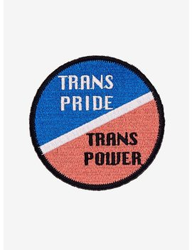 Trans Pride Trans Power Patch by Hot Topic
