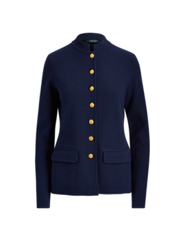 Cotton Blend Officer's Jacket by Ralph Lauren