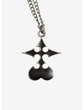 Disney Kingdom Hearts Nobody Symbol Necklace by Hot Topic