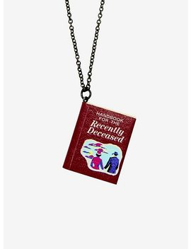 Beetlejuice Handbook For The Recently Deceased Necklace by Hot Topic