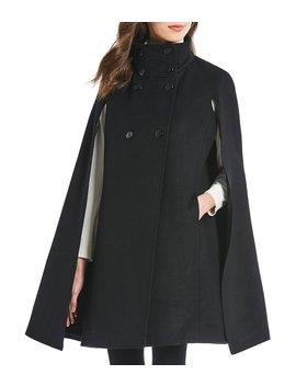 Double Face Cape Coat by Calvin Klein