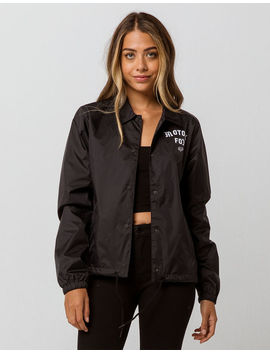 Fox Pit Stop Womens Coach Jacket by Fox