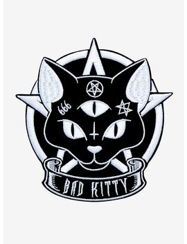 Loungefly Bad Kitty Pentagram Patch by Hot Topic